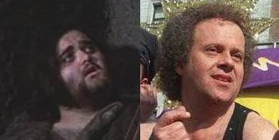 Richard Simmons in Satyricon - Comparison