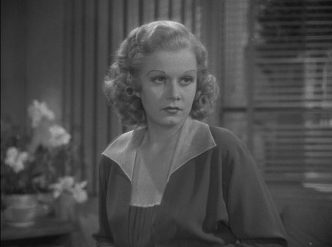 Jean Harlow in Wife Vs Secretary | SBBN Screencap
