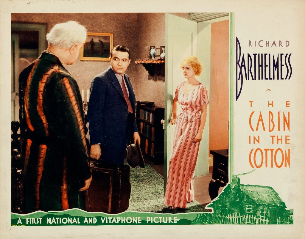 Cabin in the Cotton lobby card
