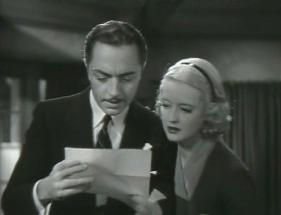 william powell and bette davis in fashions of 1934