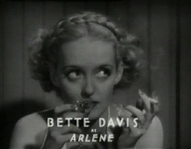 Bette Davis as Arlene in Fog Over Frisco