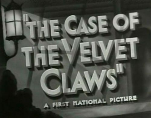 Perry Mason - The Case of the Velvet Claws
