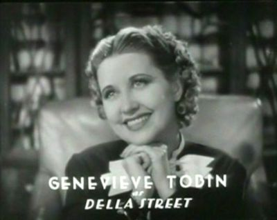 Perry Mason - Genevieve Tobin as Della Street