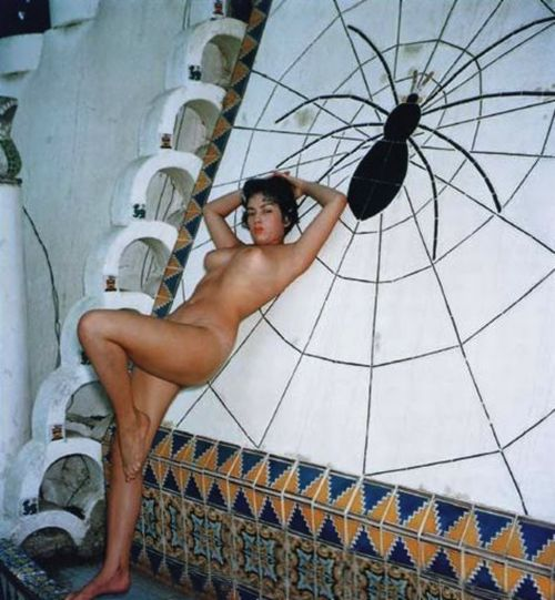tura satana at the spiderpool circa 1954
