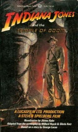 temple of doom book cover