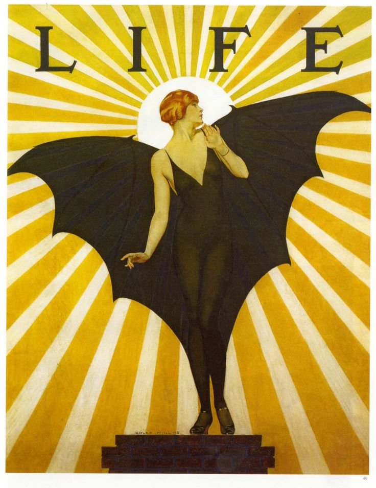Coles Phillips in Life Magazine, 1927