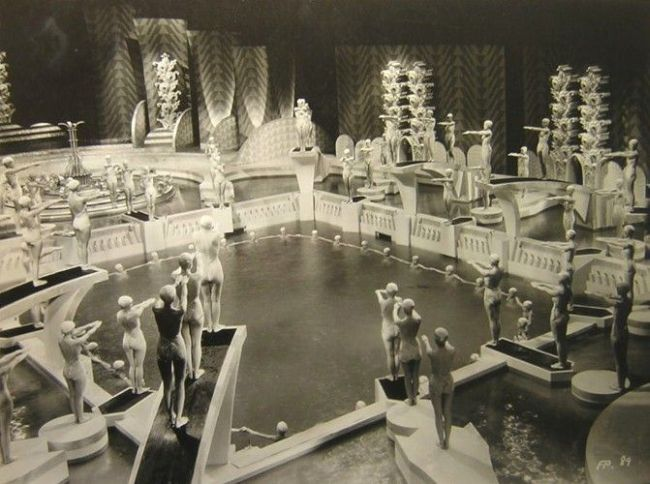 footlight parade set