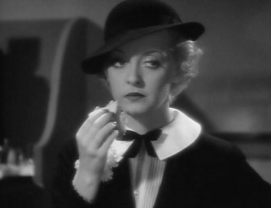 front page woman with bette davis