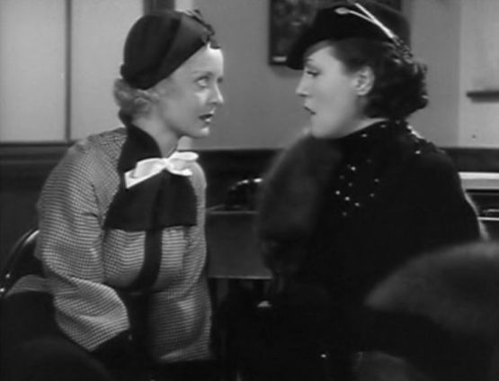 front page woman with bette davis and winifred shaw