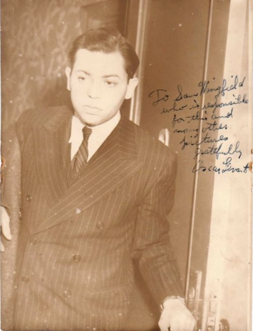 Young Oscar Levant