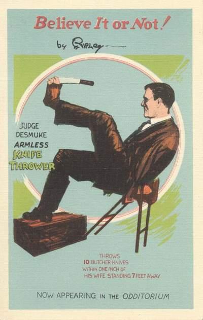 Paul Desmuke - The Unknown 1927