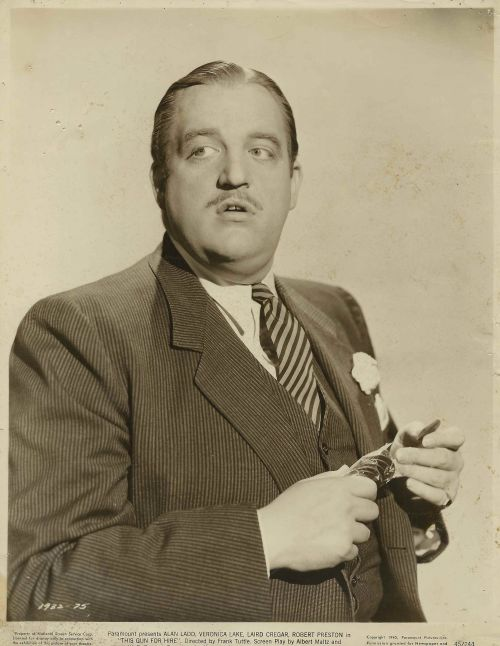 Laird Cregar publicity photo circa 1944