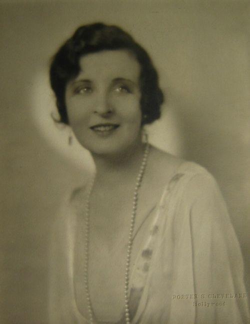 Doris Lloyd publicity portrait, early 1930s