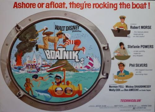 The Boatniks lobby card