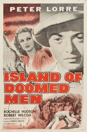 Island of Doomed Men poster