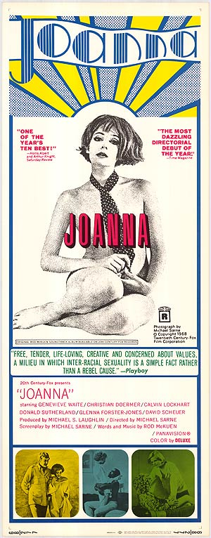 Joanna 1968 poster