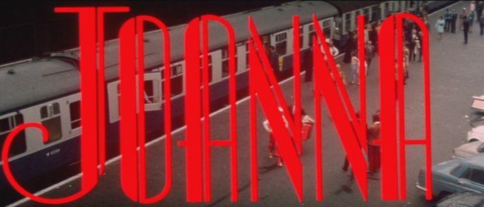 Joanna 1968 title screen
