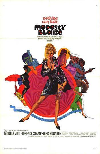 Camp & Cult Blogathon: Modesty Blaise (1966)