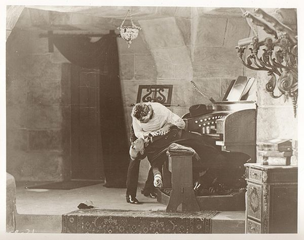 Lon Chaney Phantom of the Opera on Stage 28, Universal