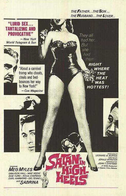 Camp & Cult Blogathon: Satan in High Heels (1962)
