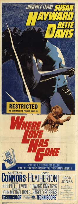 Camp & Cult Blogathon: Where Love Has Gone (1964)