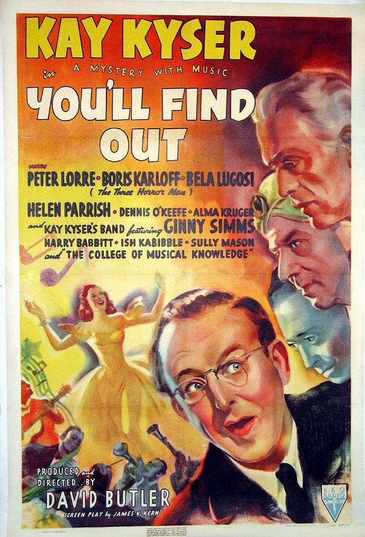 Camp & Cult Blogathon: You'll Find Out (1940)