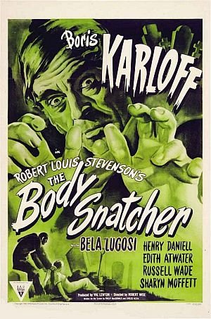 The Body Snatcher poster
