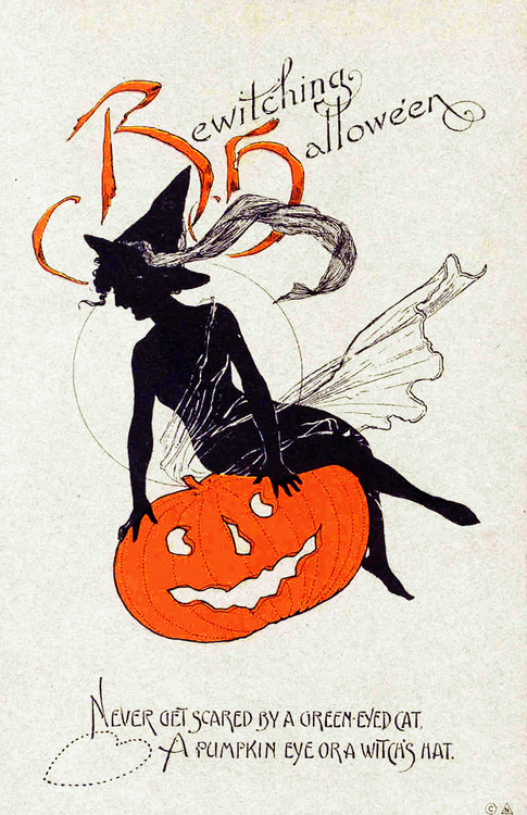 Halloween Card, Circa Late 1920s