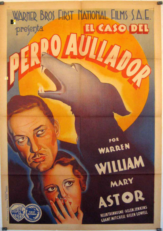 Perry Mason - The Case of the Howling Dog Spanish poster