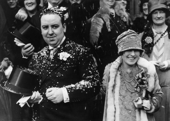 Hitch Gets Hitched - Alfred and Alma Hitchcock