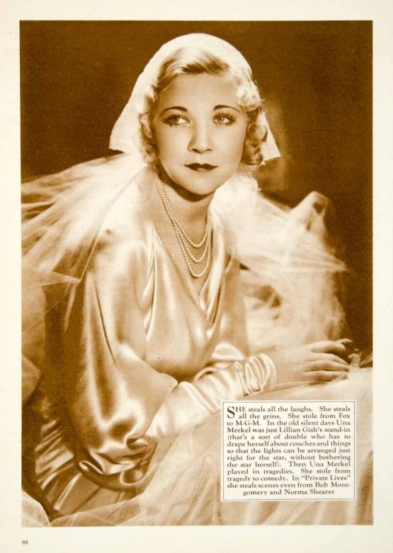 Una Merkel in Private Lives