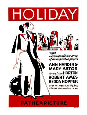 Holiday 1930 poster