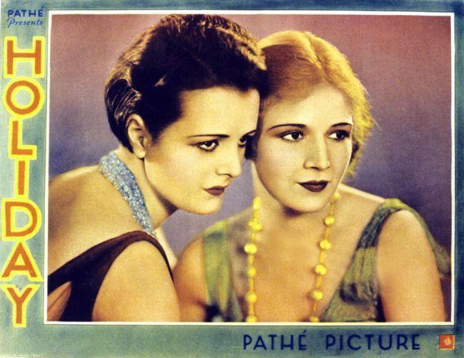 Holiday 1930 lobby card