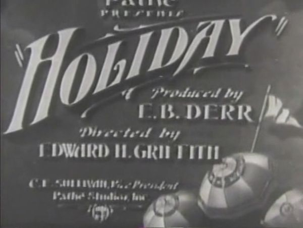 Holiday 1930