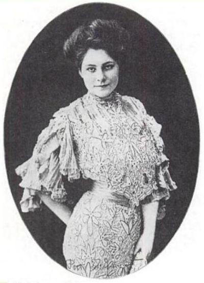 Margaret Dumont circa 1905