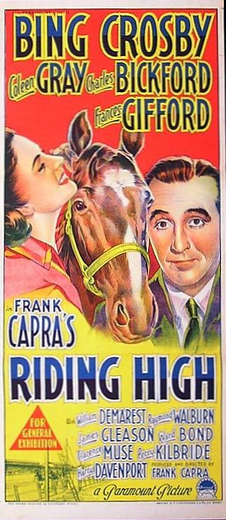 Riding High poster