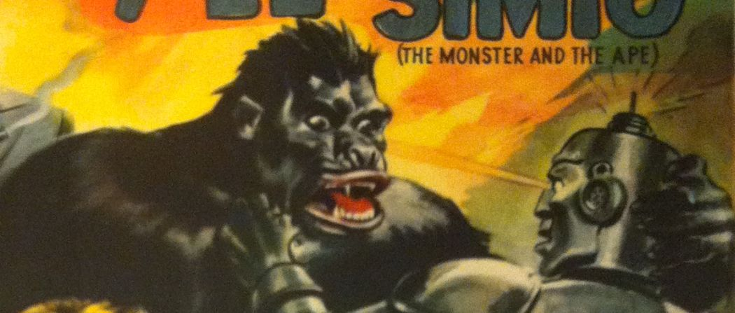 The Monster and the Ape #2: Bringing a Monkey to a Knife Fight