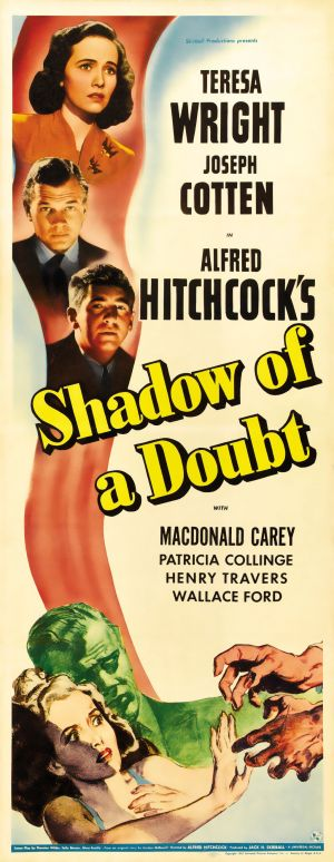 1943 Shadow Of A Doubt poster