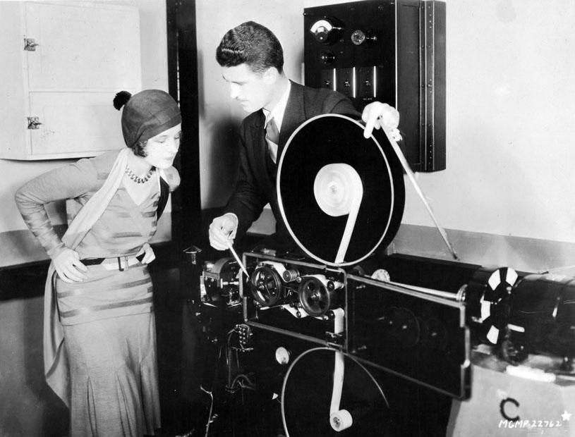 norma shearer and douglas shearer, late 1920s