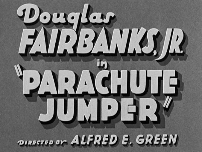 Parachute Jumper title screen
