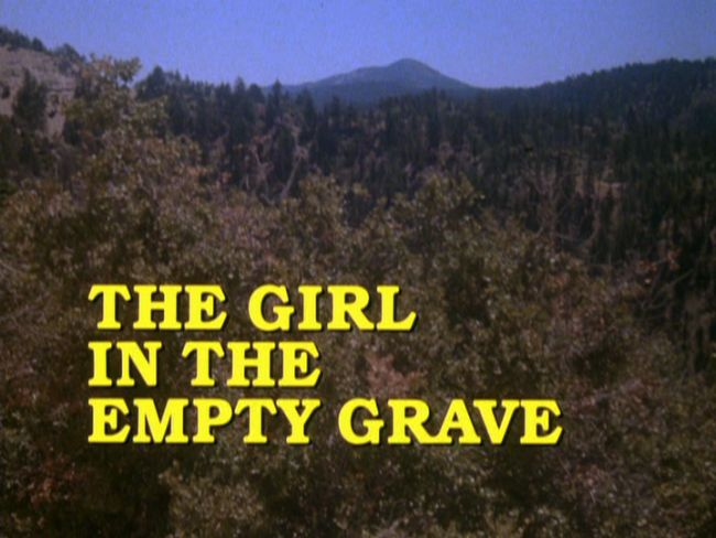 The Girl in the Empty Grave title screen
