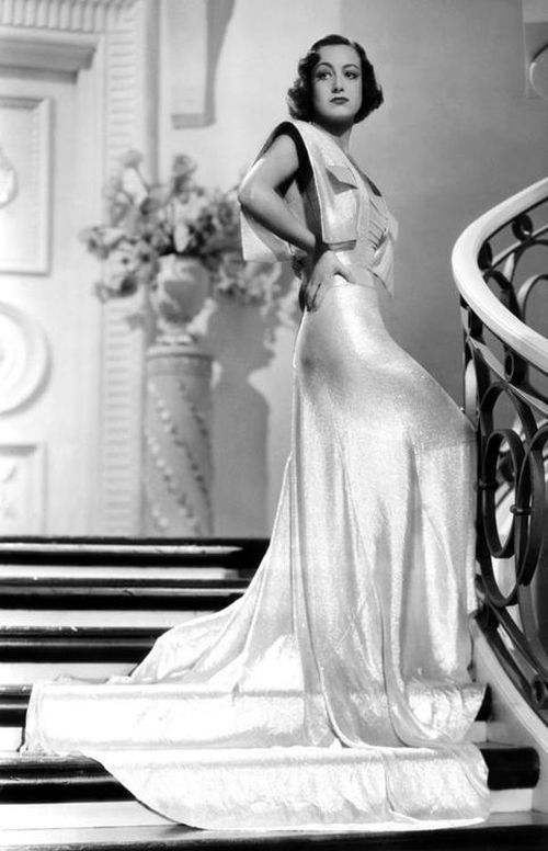 I Live My Life - Joan Crawford in gown by Adrian