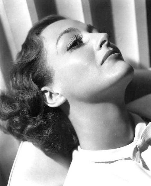I Live My Life - Joan Crawford portrait by George Hurrell