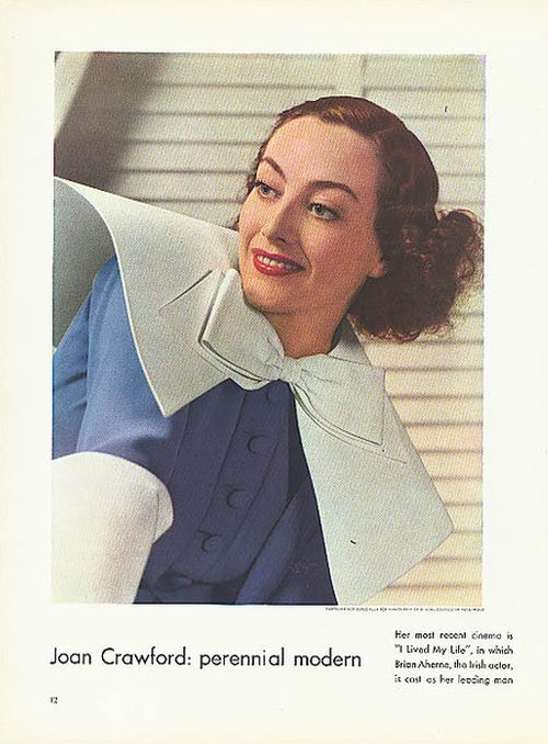 I Live My Life - Joan Crawford promotional from Vanity Fair
