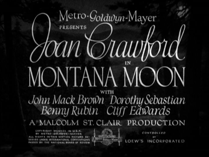 Montana Moon title screen