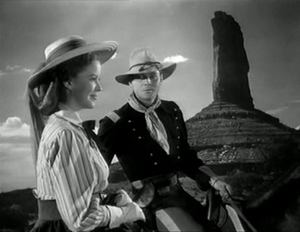 fort apache shirley temple john agar