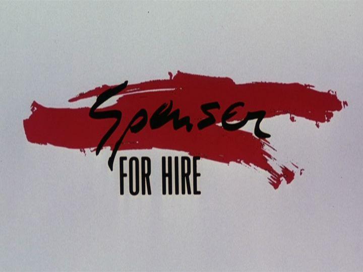 Spenser: For Hire season one DVD