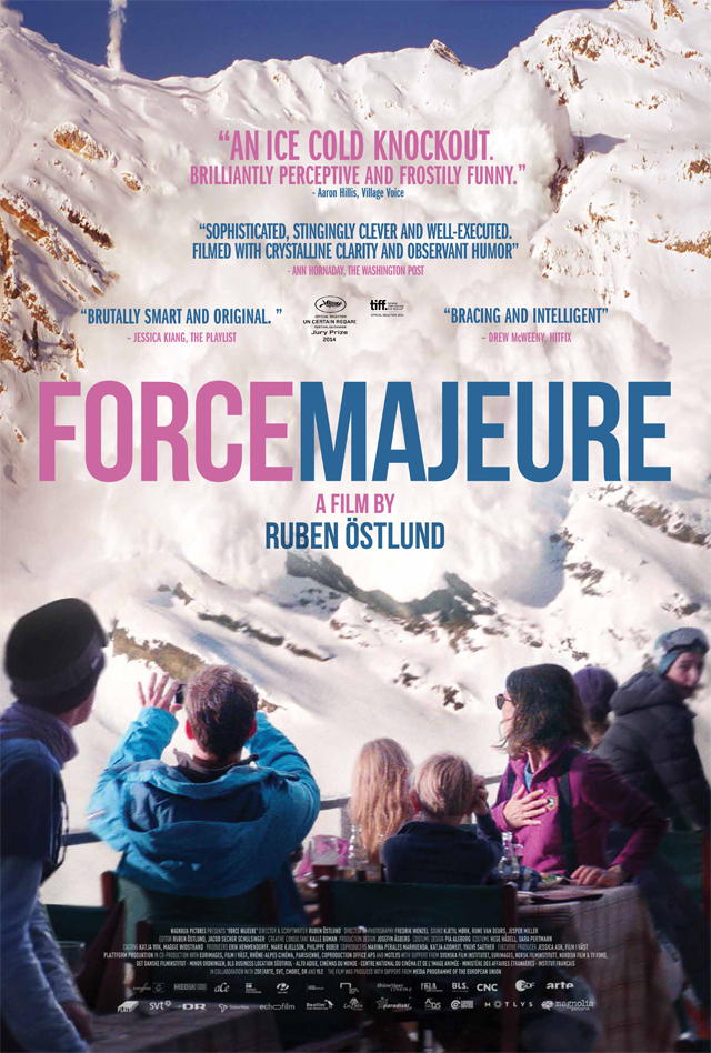 force majeure 2014 poster