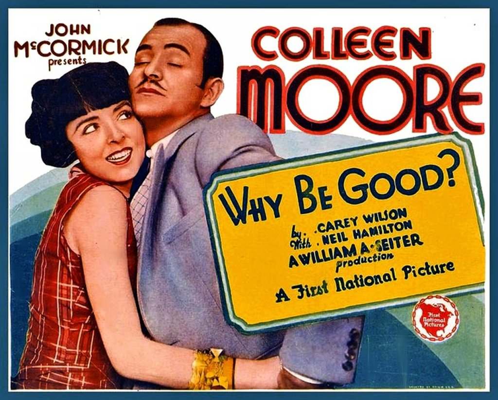 Why Be Good - 1929 LC