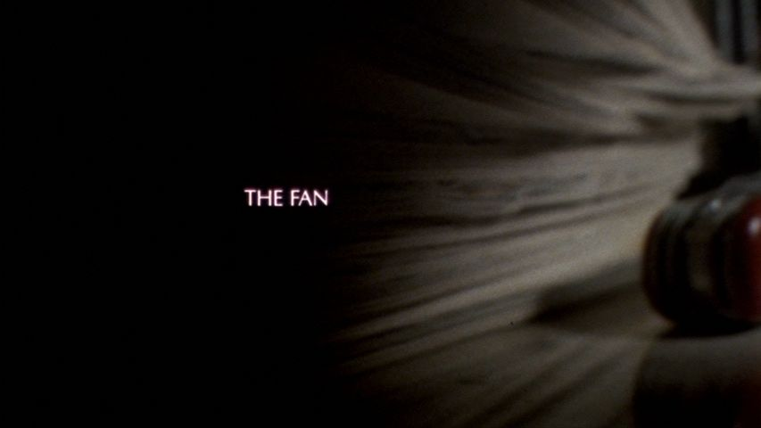 The Fan (1981) title screen